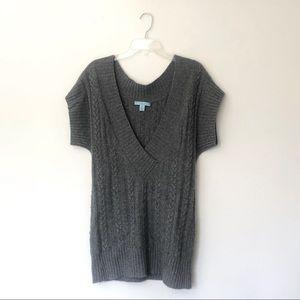Antonio Melani 100% Cashmere V-Neck Tunic Sweater